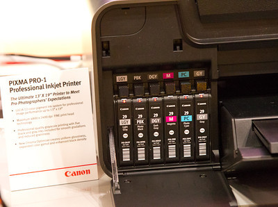 Canon PIXMA PRO-1 - 4 of 5 Black Ink Cartridges
