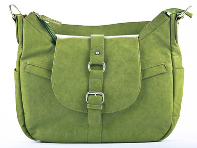 Kelly Moore Camera Bag B-Hobo Grassy - Front View