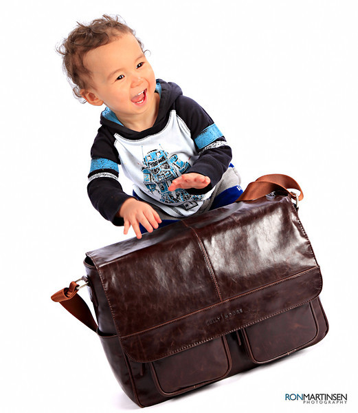 Kelly Moore Camera Bag Kelly Boy Brown - Durable enough for toddlers