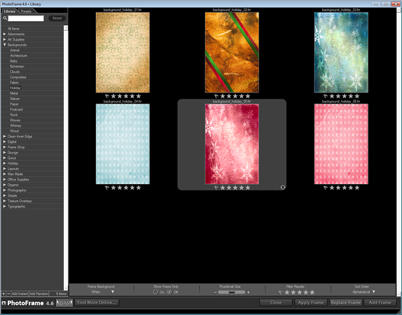 onOne Software PhotoFrame 4.6